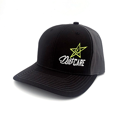 Dirt-Care Hat Black/Grey